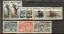 francobolli Australia Penguins and Seals Territori Australi e Antartici Francesi