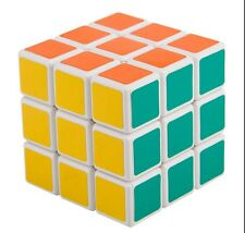 Shengshou 3x3x3 Ultra smooth Spring Speed Magic Cube 3x3 Puzzle White Xmas Gift