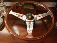 "Jaguar XJ6 1975 - 85 Wood Steering Wheel 15.3"" Nardi NOS New"
