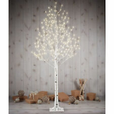 LED Twinkling 7ft Birch Twig Tree 280 Led Light Indoor Outdoor, Christmas Gift