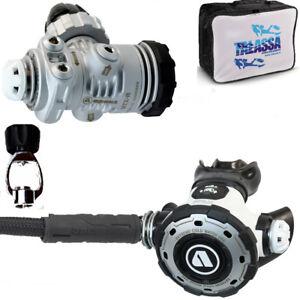 RO1 01A Erogatore subacqueo APEKS   MTX-R  DIN300 +  ADATTATORE DIN300>INT