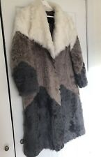 Genuine Womens Fur Coat Size 2-4