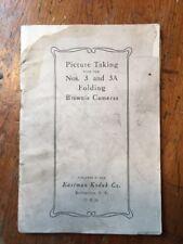 Antique Kodak Folding Brownie Cameras *Guide Book* for Nos. 3 and 3A