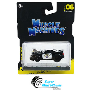 Maisto 1:64 Muscle Machines - 1993 Ford Mustang SVT Cobra Highway Patrol