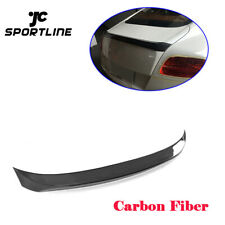 Carbon Fiber Rear Spoiler Boot Wing For Bentley Continental GT Coupe 2012-2014