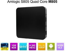 New Android 4.4 Kitkat 1080p 1GB/8GB Amlogic S805 Quad Core TV Box M805