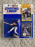 1990 STARTING LINEUP CHICAGO CUBS  MARK GRACE  Swing Pose