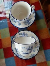 Woods Ware Toile De Jouy Cup And Saucer x 2 Multiples Available