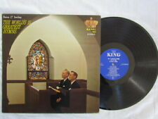 Reno & Smiley,The Worlds 15 Greatest Hymns,Vinyl lp,King