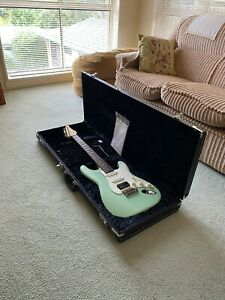 Suhr Classic S HSS Electric Guitar w/ Hard Case - Surf Green made In USA