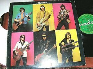 NICK LOWE   -   The Jesus Of Cool,   ORIGINAL 1978 UK LP / inner.... DECENT COPY