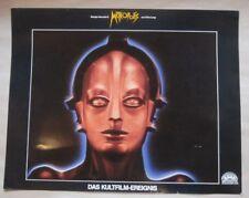 METROPOLIS - Giorgio Moroder Version - 6 AUSHANGFOTOS LOBBYCARDS - Fritz Lang