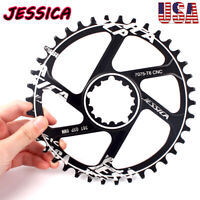 JESSICA GXP 6mm 32-38T Narrow Wide Teeth Chainring MTB Bike Chainwheel Sprocket