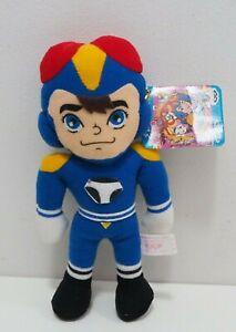 """Time Bokan Yatterman Tanpei Banpresto 1993 Plush 8"""" TAG Toy Doll japan"""