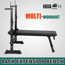 Adjustable Folding Weight Lifting Flat Incline Bench Fitness Safety Workout