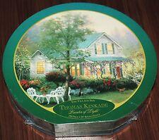 """Ceaco Vintage Thomas Kinkade """"The Village Inn"""" 750pc Round Puzzle"""