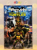 Batman Teenage Mutant Ninja Turtles #1 (9.4) NM Gamestop Variant DC Comics IDW