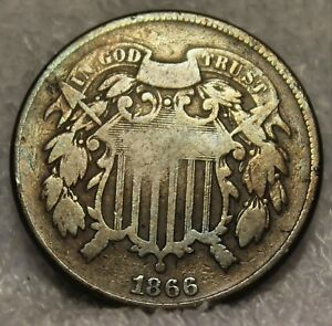 1866 two cent