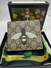 Authentic Gucci Men's Leather BEE Wallet 33kb