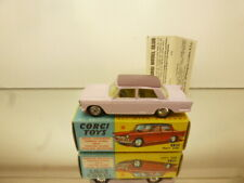 CORGI TOYS 232 FIAT 1200  - PINK 1:43 - GOOD CONDITION - IN BOX