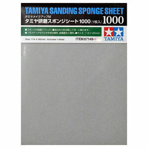 TAMIYA 87149 Sanding Sponge Sheet 1000 - Tools / Accessories