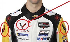 """Corvette Equipe de Course Super SPORTS C-7 Logo Veste Patch : 4 """" X 1+5 2"""