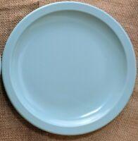 ONE Mid Century Texas Ware Melmac Melamine Salad Bread Plate Light Blue *