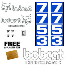 Bobcat 7753 Skid Steer Set Vinyl Decal Sticker 13 PC SET + FREE APPLICATOR