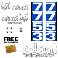 Bobcat 7753 Skid Steer Set Vinyl Decal Sticker 13 Pc Set Free Applicator