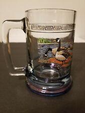 New Listing2 Barware Glass Sporting Mugs. Ducks And Geese.