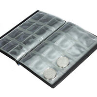 120 Coins Collection Holders Storage Money Penny Pocket Album Book Folder