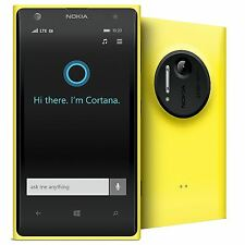 NOKIA LUMIA 1020 32GB YELLOW FACTORY UNLOCKED SMARTPHONE
