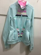 Ivivva youth girls size 12 adorable zipper front jacket
