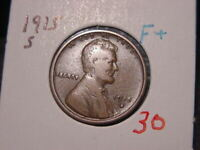 1915-S LINCOLN CENT FINE + F + NICE ATTRACTIVE COLOR PQ! COMBINED SHIPPING