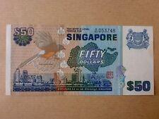 Singapore $50 Bird Series 1976 (UNC) A/82 053748