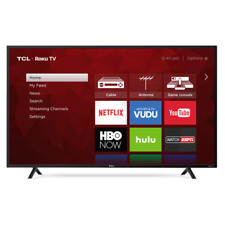 "TCL 55S401 55"" 4K Ultra HD LED Roku Smart TV - Black"
