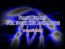 PIANO SCALES ALL MODES & KEYS PDF BOOK