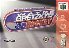 Wayne Gretzky's 3D Hockey (Nintendo 64, 1996) Game Only