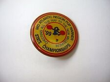 Vintage Collectible Pin: 1999 Pop Warner Mid Atlantic Region State Championships
