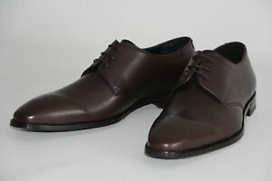 HUGO BOSS Business-Schuhe, Mod. Feroke_Derb_ltpt, Gr. 45 / UK 11, Dark Brown