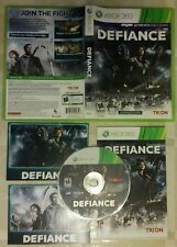 Defiance [Microsoft Xbox 360 2013] mutliplayer online shooter game RPG COMPLETE