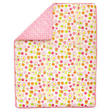Sadie & Scout You Are So Sweet Crib Comforter - Fruits & Hearts