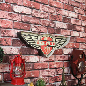 Man Cave LED Sign – Hot Garage Rod Hanging Wall Mounted Bar Shed Garage- GM-WMC