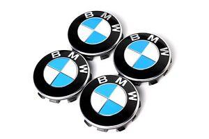 4x Original BMW Nabendeckel X1 F48 2er F45 F46 5er G30 G31 7er G11 G12 - 55mm