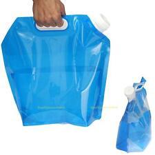 Portable Folding Water Storage Hand Lifting Bag Camping Hiking Survival Tool 5L