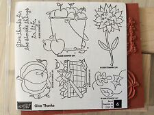 Stampin Up Give Thanks 2006 Thanksgiving New!