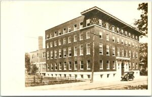 SPRINGFIELD, Missouri RPPC Real Photo Postcard YMCA Building / Street View 1910s