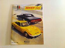 Dinky Toys Atlas > Catalogue 1969