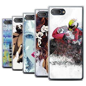 STUFF4 Gel/TPU Case/Cover for Blackberry KEY2 LE/Fragments