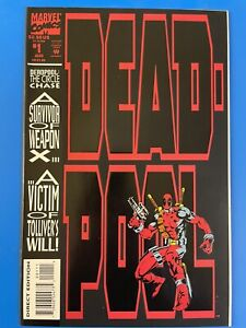 Deadpool: The Circle Chase #1 (Marvel 1993) NM, many pics! 1st Deadpool Solo!